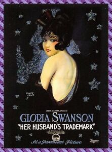 Carte collection Affiche de Film HER HUSBAND'S TRADEMARK - N°2