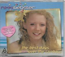 Nikki Webster Best Days CD single with stickers (2001)