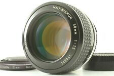 【MINT】 Nikon Ai Noct Nikkor 58mm f1.2 MF Lens From Japan #901