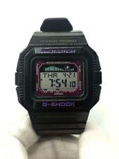 C asio G-shock GLX-5500 G-Lide Moon Phase Tide Graph Black Purple Digital Watch