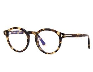 TOM FORD FT5529-B 055 Eyeglasses Tortoise Frame 48mm TF5529