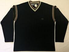 Canyon River Blues V-Neck Sweatshirt / Black  - Men's M / Brand New