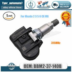 1x TIRE PRESSURE SENSOR MONITOR TPMS OEM BBM2-37-140B For Mazda 2 3 5 6 CX MX