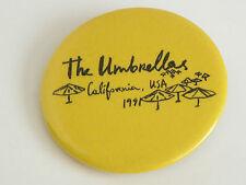 Rare 1991 Christo and Jeanne-Claude Project Umbrellas Pin