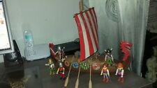 Playmobil grand drakkar viking complet