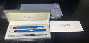 Parker Sonnet Insignia 88 Fountain pen & Roller Ball Original box