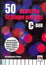 50 deutsche Schlager und Hits in C-Dur :  Melodie/Texte/Akkorde  Songbook
