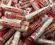 Smarties Candy Rolls ONE POUND Approx Bulk 60 Mini Rolls Classic Tangy Candy