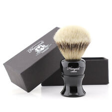 Resin Shaving Brush Handles - Badger Silver Tip Hair Super Bristles Shaving Soap