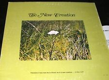 THE NEW CREATION s/t LP PRIVATE NORTH DAKOTA ND XIAN FOLK