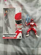 Hasbro Power Rangers Lightning Colección Wave 1-Dino cargo Ranger Rojo