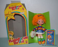 1983 Mattel Rainbow Brite Doll & Twink Spite #7233 New in Box. Really nice!