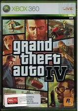 XBOX 360...Grand Theft Auto IV...GTA...PAL...Disk, Manual & Map...Great Cond...