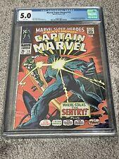 MARVEL SUPER-HEROES #13 1968 1ST APP CAROL DANVERS! 2ND CAPTAIN MARVEL! CGC 5.0