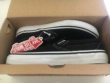 Vans Classic Slip-On Black/White