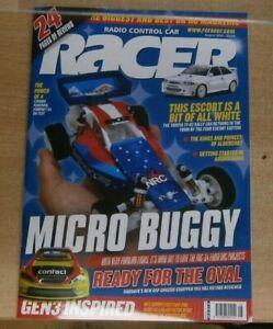 Radio Control Car Racer magazine Aug 2021 nrc-24 Micro Buggy + VRX HR3 HotRod
