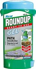 Roundup Gel Path Weedkiller Kills The Roots Ready To Use 150ml
