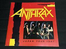 """Anthrax"" Tourbook Japan Tour 1987 Booklet"