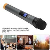 UHF Sans fil Microphone Haut-parleur Karaoké KTV Bar Micro USB avec récepteur