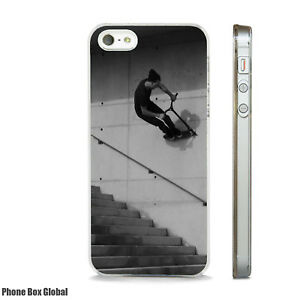 SCOOTER FREESTYLE GRIND PHONE CASE FITS IPHONE 4 4S 5 5S 5C 6 6S 7 8 SE PLUS X