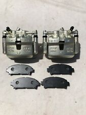 TOYOTA MR2 FRONT 2 POT CALIPERS & CARRIERS & BRAND NEW (heavy duty pads)258mm