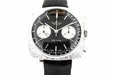 Men's Vintage Breitling Top Time With Leather Band