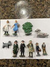 Lot of 10 Vintage Cast Iron & other Farm Figures