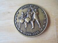 1776-1976 Spirit of '76 Medal, United States Bicentennial