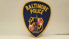 Police Department Baltimore Police Color Patch