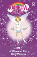 Rainbow magic.: Lucy the diamond fairy by Daisy Meadows (Paperback) Great Value