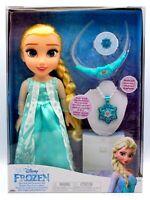 Genuine Disney Frozen Princess Elsa Doll and Accessory Set Christmas Gift 3+