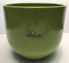 """Scheurich Art Pottery Germany Lime Green Pot, numbered 820-14, 5"""" high"""
