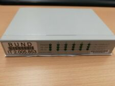KTI KGS-510F 5 (6) Port Managed Gigabit Switch Ethernet Netzwerk Business GLS