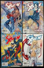"""X-Treme X-Men #20-23 (2003, Marvel) 21 22 """"Schism"""" Parts 1-4 Complete Set"""