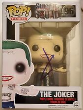 Jared Leto Signed Suicide Squad The Joker Funko Pop #96 W/ COA