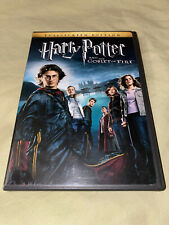 Harry Potter and the Goblet of Fire Dvd Full Screen Fantasy Movie