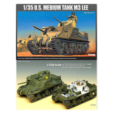 ACADEMY #13206 1/35 Plastic Model Kit M3 LEE US Medium Tank