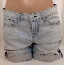 Jbrand Shorts New Grey Soft Denim Size 24