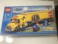 NEW Lego City Classic Truck (3221) Yellow Semi Truck Sealed RARE HTF FAST SHIP