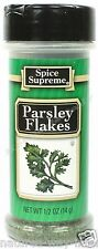 Spice Supreme® PARSLEY FLAKES new & fresh USA MADE seasoning spices cooking