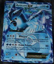 Holo Foil Articuno EX # 25/135 B&W Plasma Storm Set Pokemon Trading Cards NM