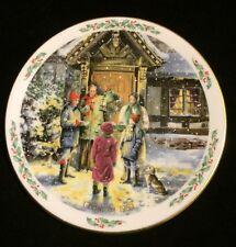 Royal Doulton England Caroling Christmas Collector Plate