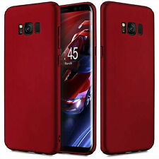 For Samsung Galaxy S8 Plus- Red Case Shockproof Ultra Thin Slim PC Back Cover