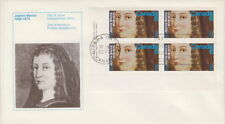 CANADA #615 8¢ JEANNE MANCE LL PLATE BLOCK FIRST DAY COVER