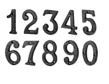 Delicieux HEAVY Black Antique Iron House Number Door Numbers Numerals Gate Sign
