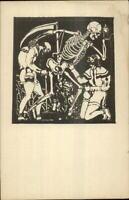MaCabre Death Skeleton Scythe Bundeserziehungsanstalt Traiskirchen Germany