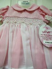 """NWT Smocked & Embroidered Dress from Will""""beth size 0"""