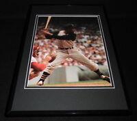 Roberto Clemente at bat Framed 11x17 Photo Poster Display Pirates