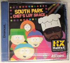SOUTH PARK CHEF'S LUV SHACK - SEGA DREAMCAST GAME - PAL - BRAND NEW SEALED