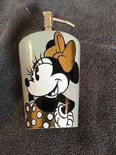 Disney Minnie Mouse Lotion / Soap Pump Dispenser Gold Bow NEW